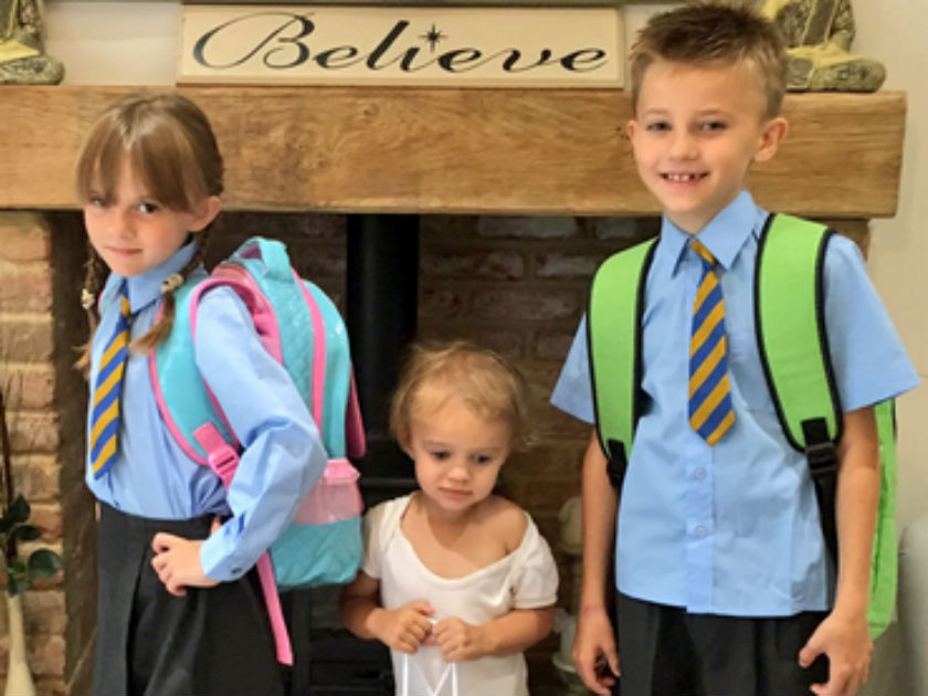 Back To School! Celebrities Post Photos Of Their Kids