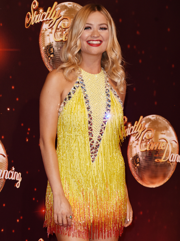 strictly no nip slips for laura whitmore as she s sewn
