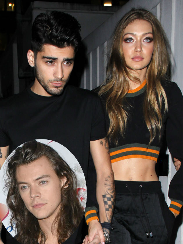 gigi hadid slated for throwing shade at harry styles