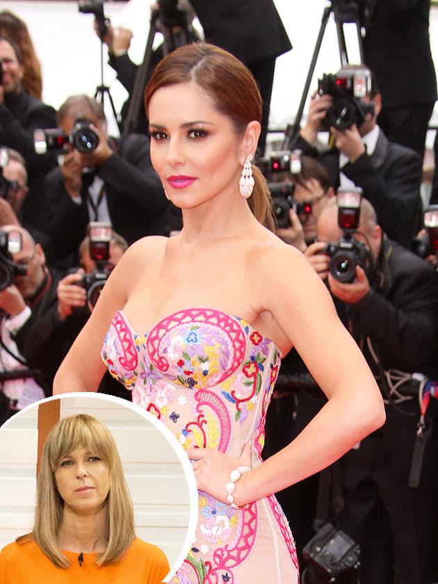 Kate Garraway mocks 'pregnant' Cheryl's weight amid size ...