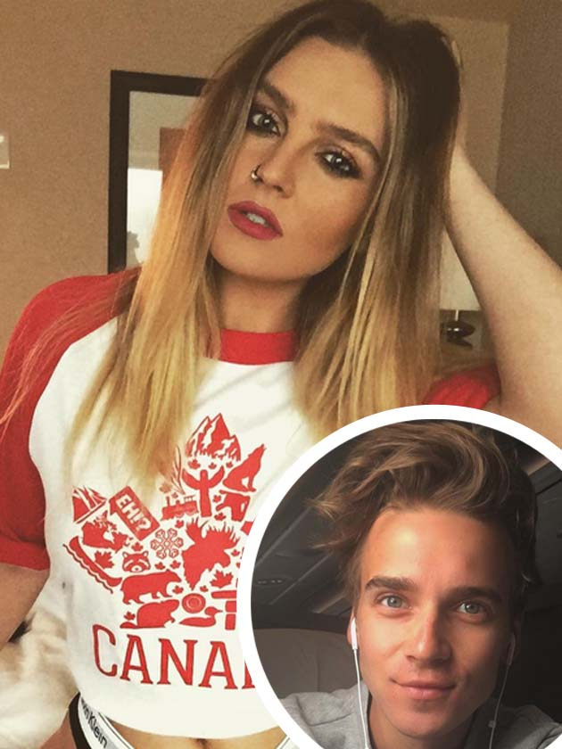 perrie edwards romance with youtube star joe sugg