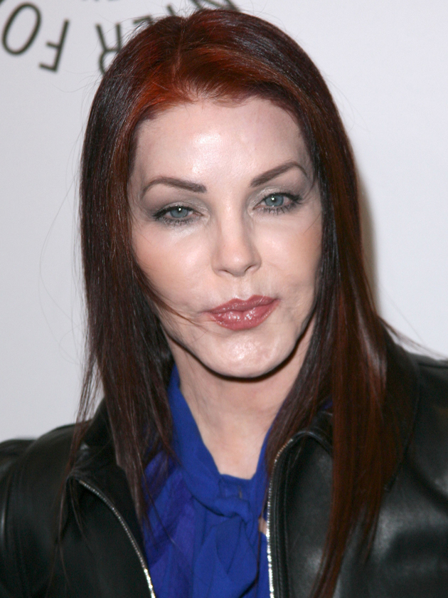 Omg Pictures See How Priscilla Presley S Face Has Changed