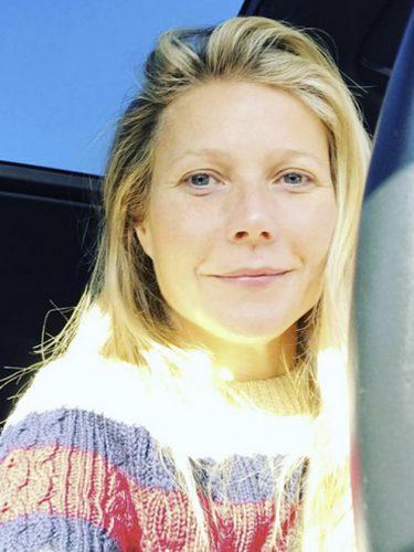 Gwyneth Paltrow No Makeup Selfie - The Hollywood Gossip