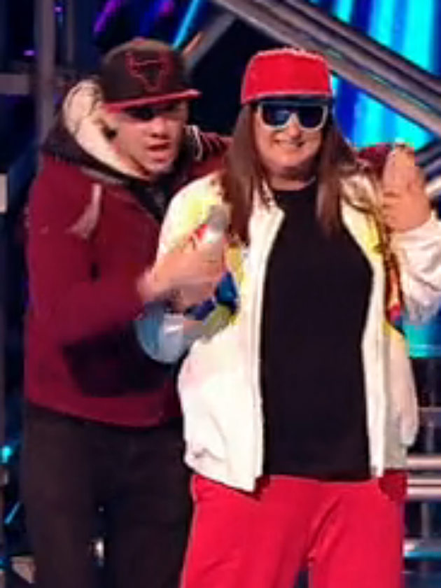 f7b2636e86f Fans accuse The X Factor of FAKING Honey G shock stage invasion
