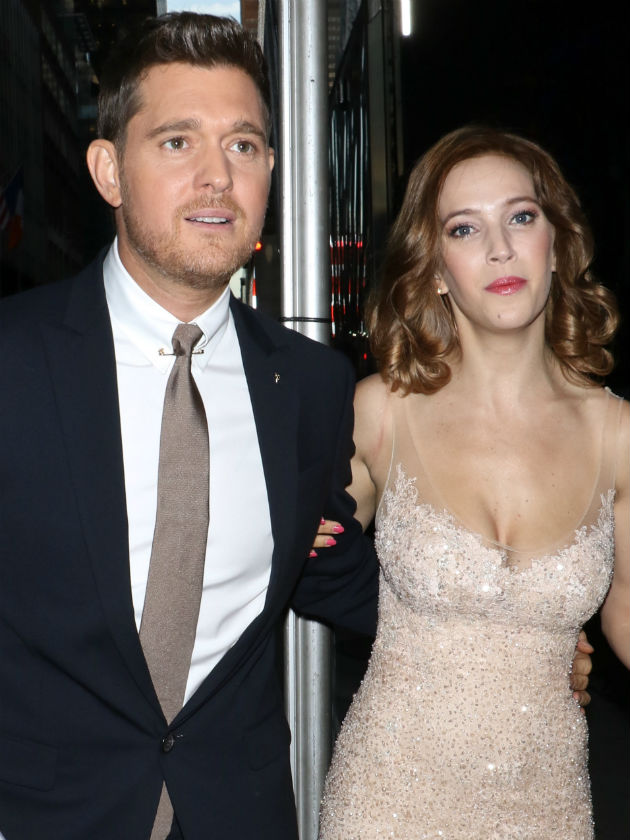 Michael Buble's wife shares photo of son Noah as he recovers from cancer