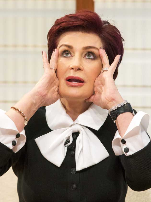 Sharon Osbourne 'in tears' after X Factor's twist on Six Chair Challenge