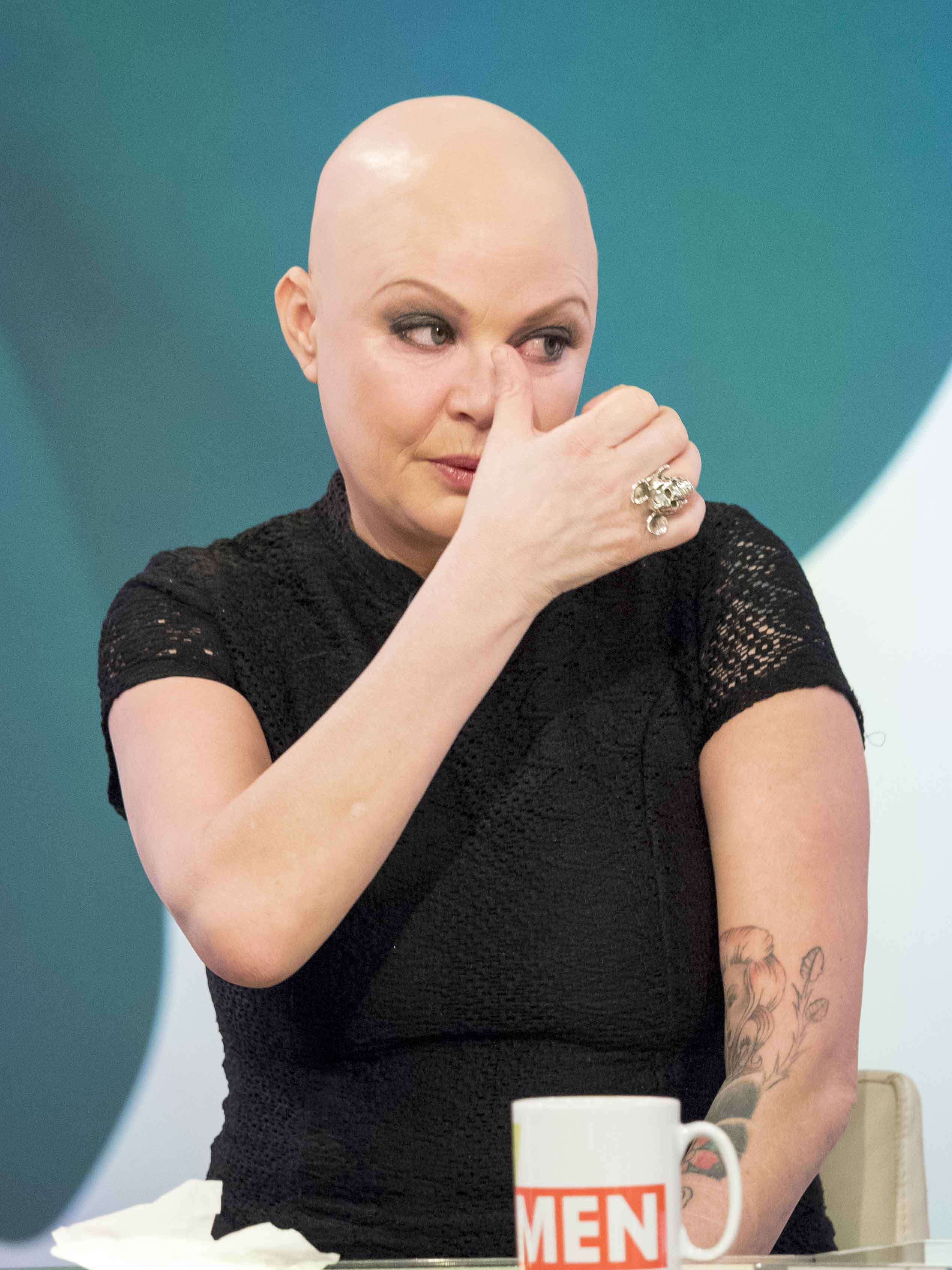 Gail Porter breaks down over money struggles leading to ...
