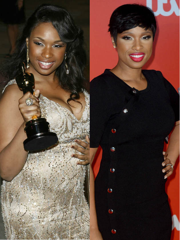 What A Transformation See Jennifer Hudson S Weight Loss