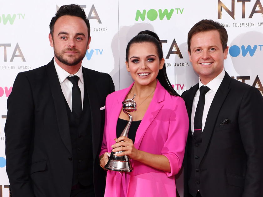 Scarlett Moffatt and Ant and Dec