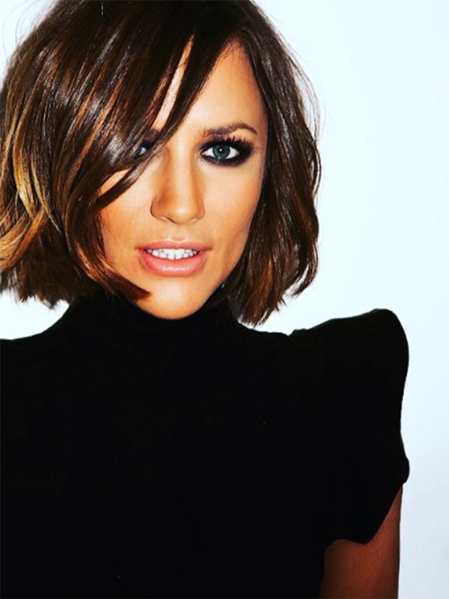 Caroline Flack Unveils A Dramatic New Look In Time For The