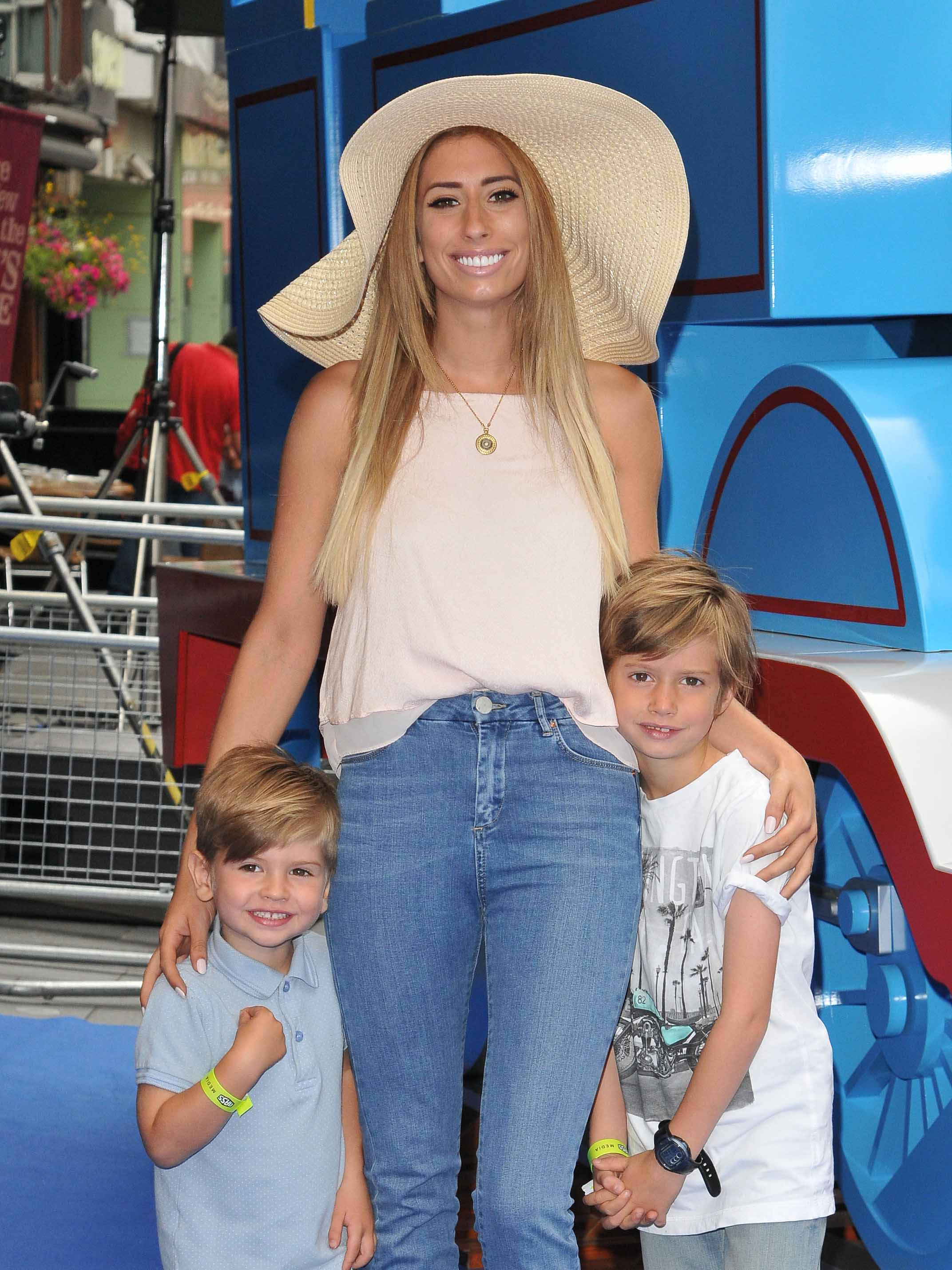 Stacey Solomon reveals she had to drag her children out an overturned car