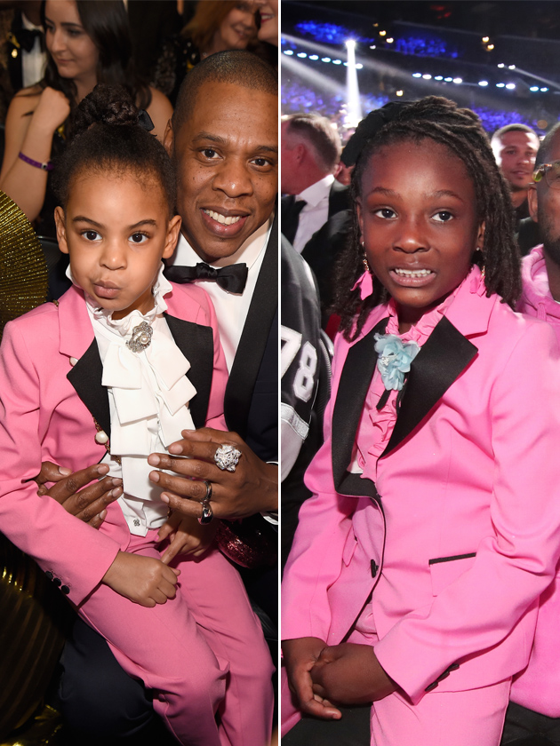 Blue Ivy Carter And Joyce Hanley Wear Same Gucci Tux To