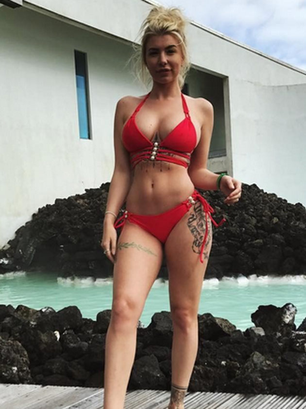 Wow Olivia Buckland Shows Off Her Incredible Body In