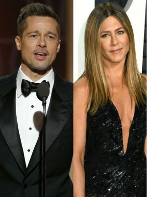 Brad Pitt and ex-wife Jennifer