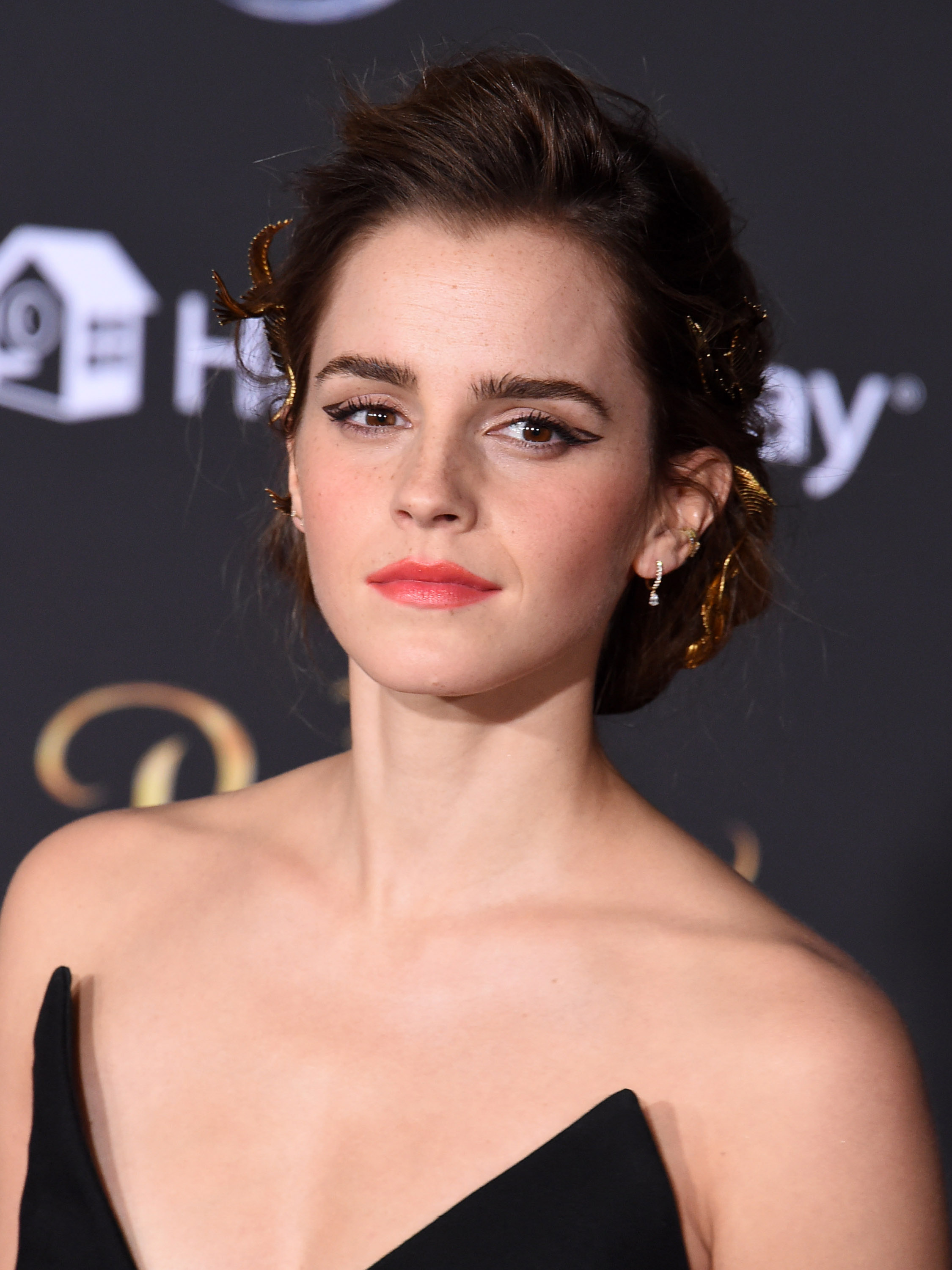 Emma Watson hits out at sexist comments about her 't*ts' Emma Watson