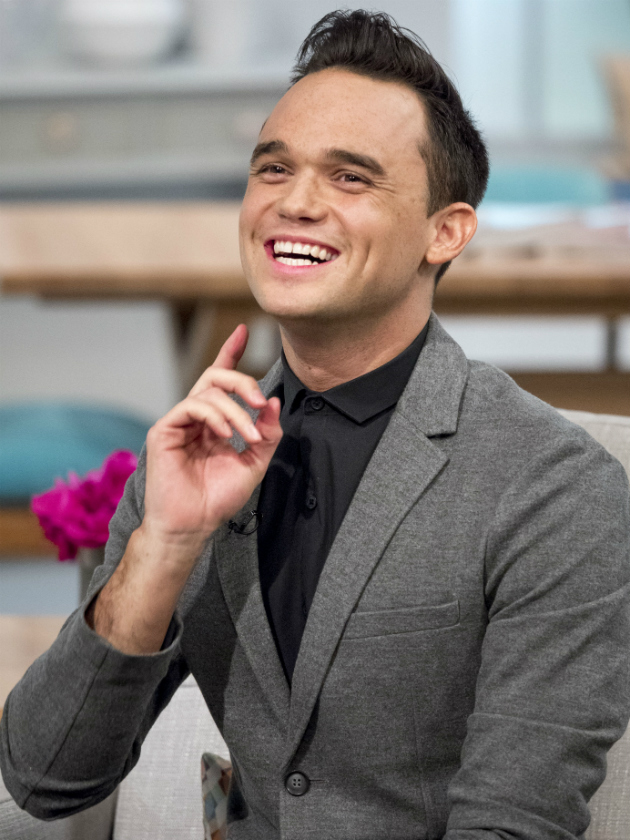 Gareth Gates sports a VERY different hairdo on This Morning
