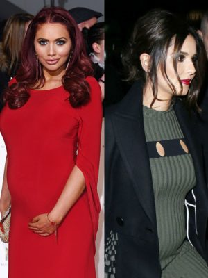 Amy Childs hits out at pregnant Cheryl: 'You've left it a bit late!'