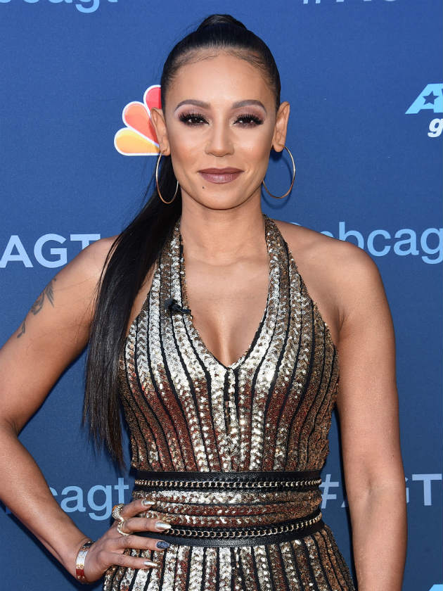 We barely recognised Mel B with her new super short hair!
