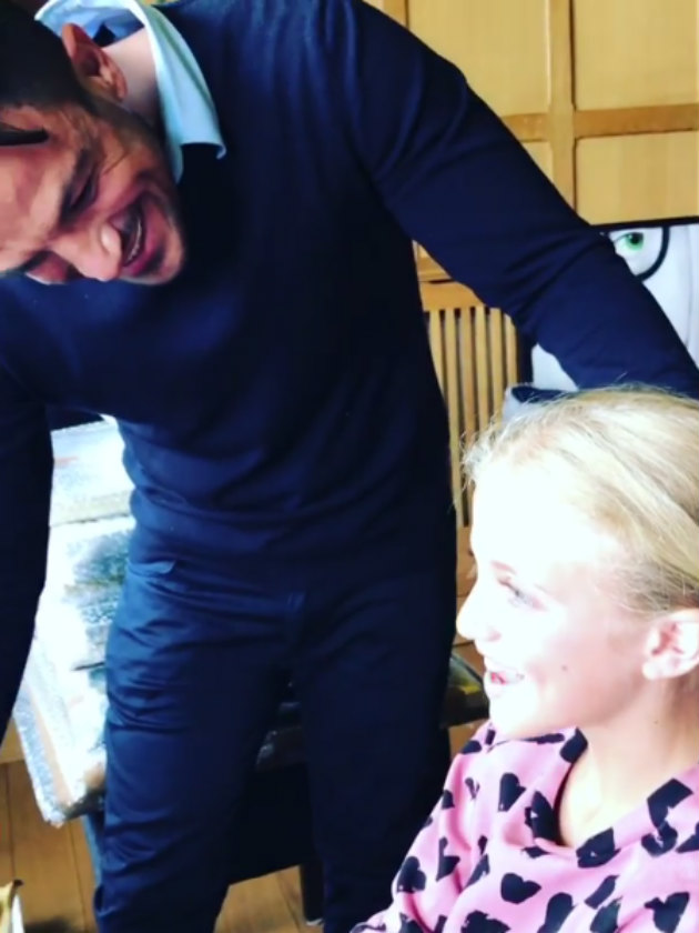 WATCH Little Mix help Peter Andre surprise daughter Princess in video
