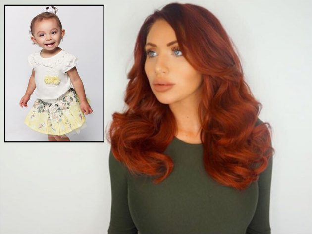 amy childs launches kidswear range and gets baby polly. Black Bedroom Furniture Sets. Home Design Ideas
