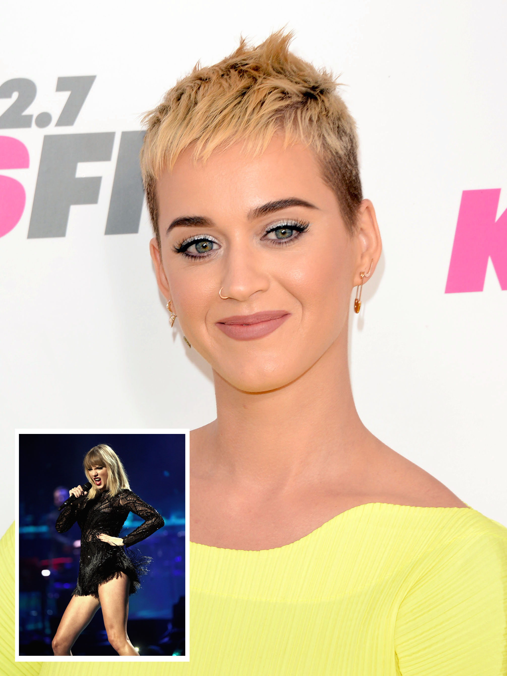 Is Katy Perry and Taylor Swift's epic feud FINALLY ending?