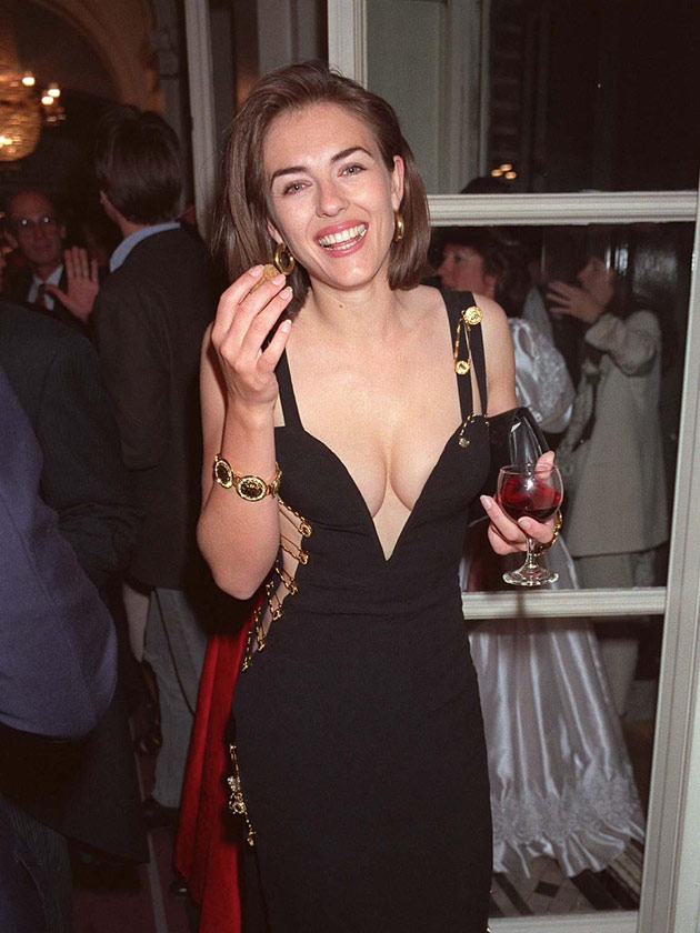 Liz Hurley S Safety Pin Dress Have Any Of These Stars