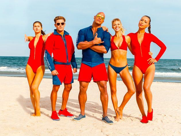 Baywatch 2017 Out With The Old And In With The New