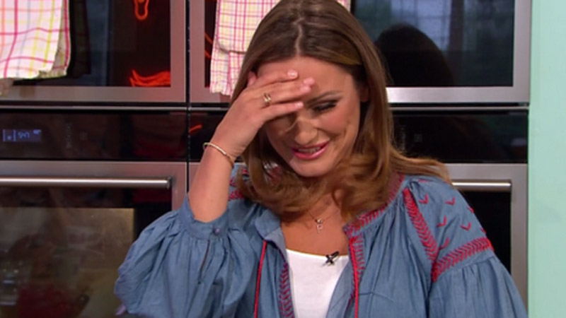 'It's a car crash!' Viewers slam Sam Faiers' 'terrible' cooking during Sunday Brunch appearance