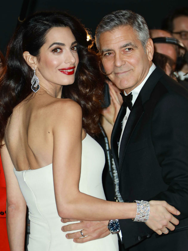 Amal and George Clooney welcome twins and announce it in funniest way