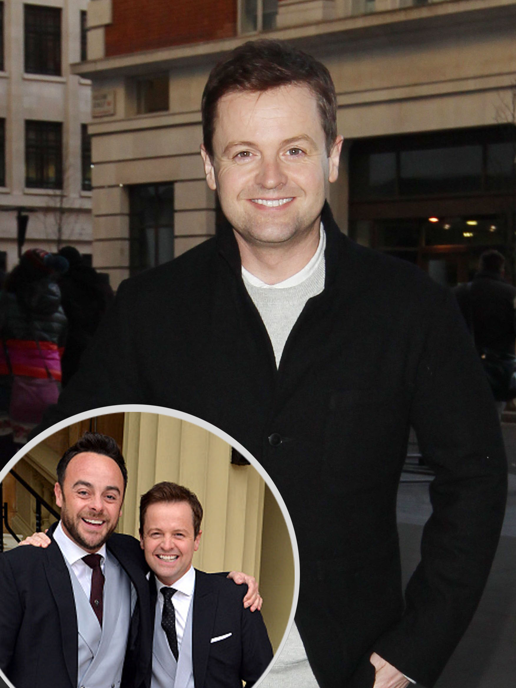 Declan Donnelly thank fans for support as Ant McPartlin enters rehab