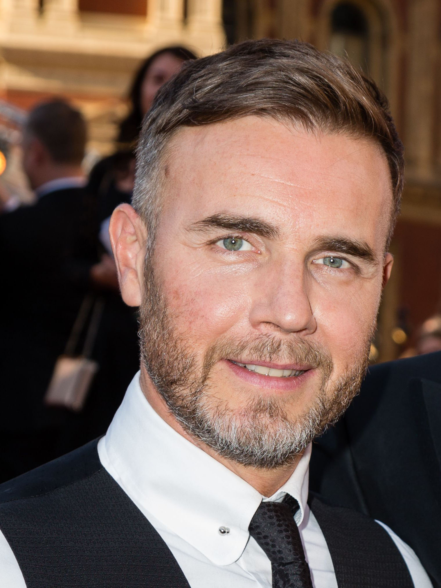 u0026 39 beautiful  u0026 39  gary barlow shares rare picture of his wife