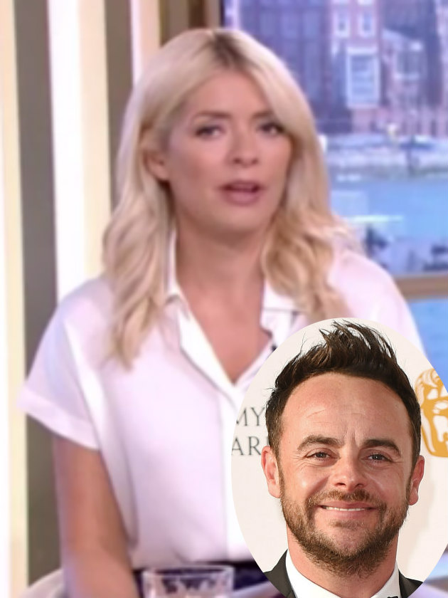 Holly Willoughby and Phillip Schofield lead support for Ant McPartlin rehab
