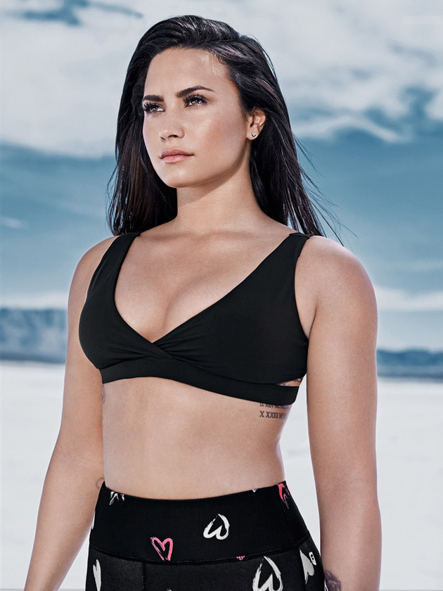What that Demi lovato fakes