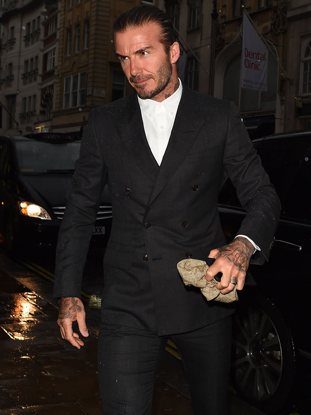 David Beckham sends temperatures rising doing this DIY job