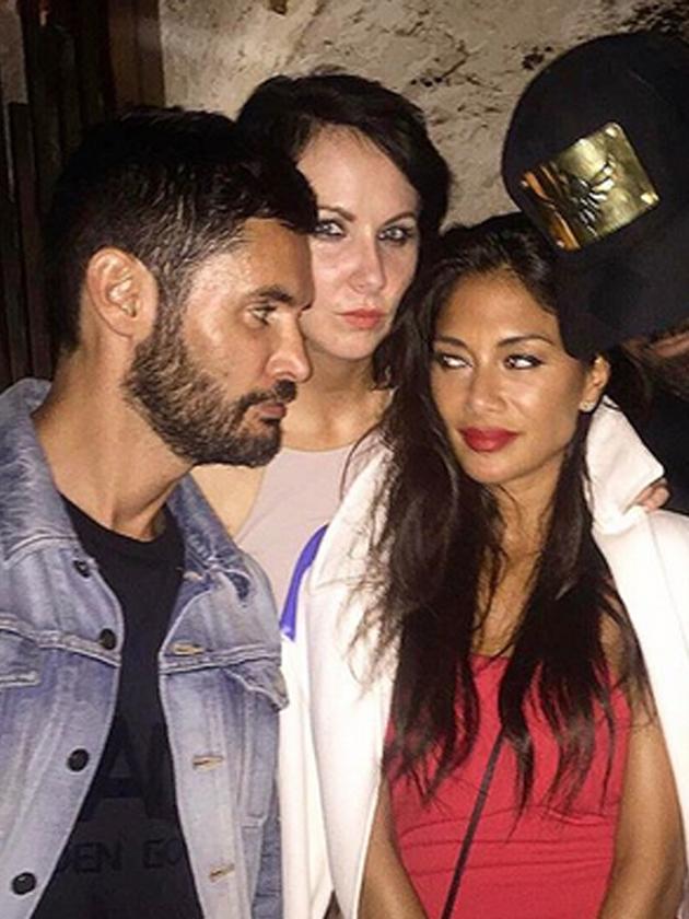 What happened when Nicole Scherzinger partied with Cheryl's ex husband