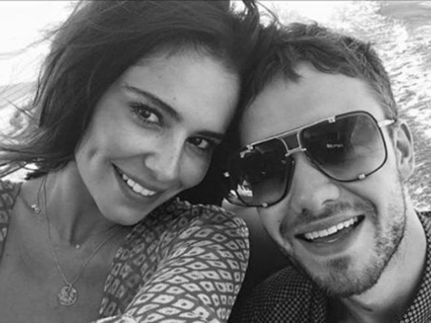 Cheryl and Liam