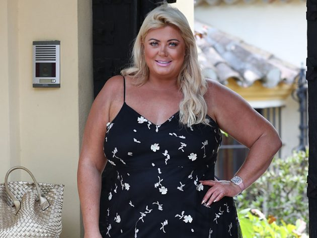 attractive price lace up in best deals on Alan Carr dresses as Gemma Collins for Halloween and it's ...