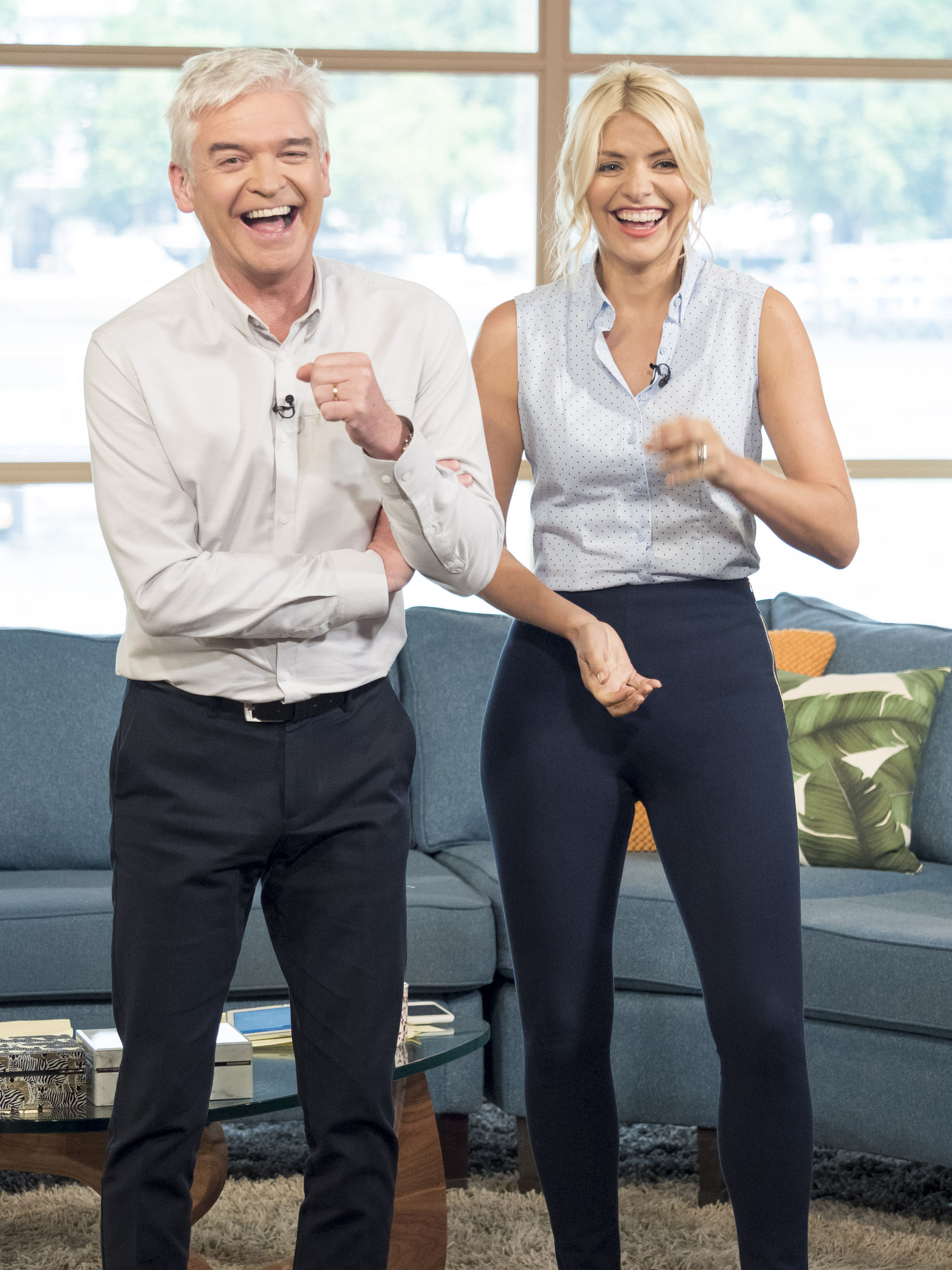 Inside This Morning's Holly Willoughby and Phillip Schofield's wild evening on holiday