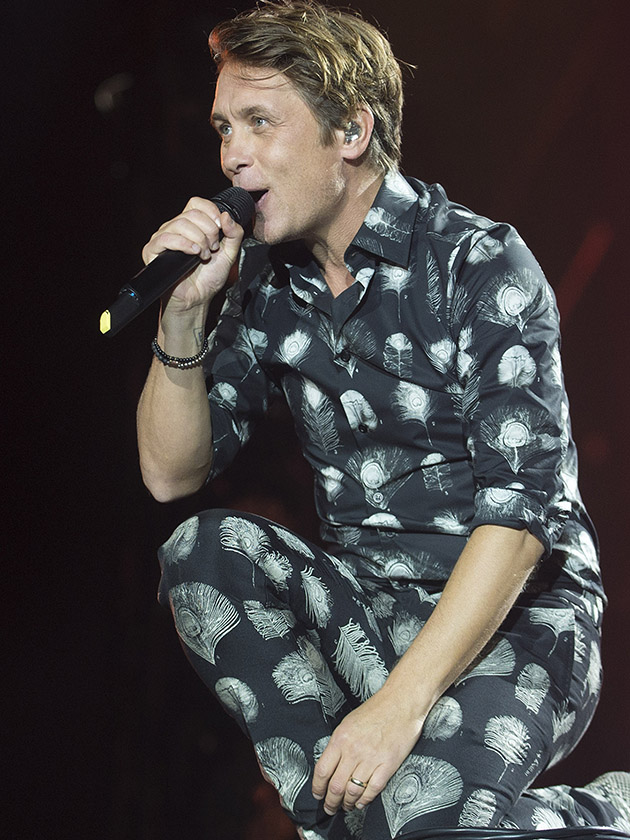 Take That Mark Owen Splits Trousers Live Stage Hyde Park