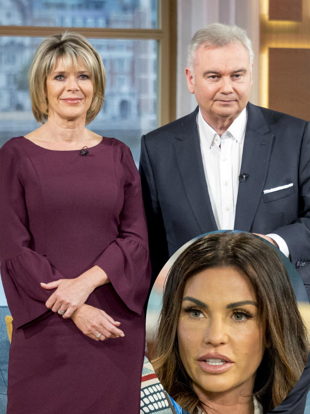 Ruth Langsford and Eamonn Holmes see Katie Price's 'Chris Hughes texts'