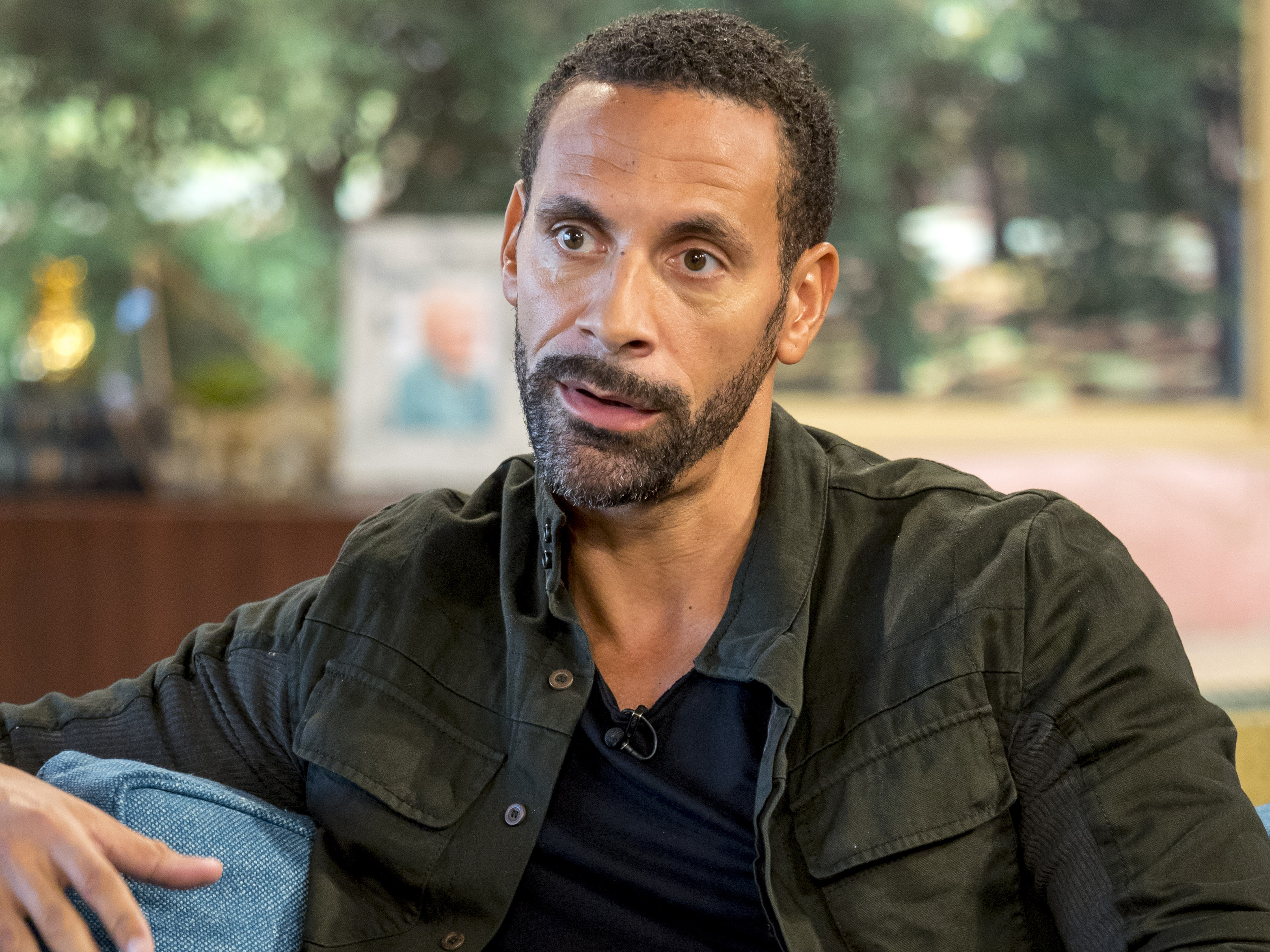 Rio Ferdinand says the CUTEST thing about Kate Wright romance