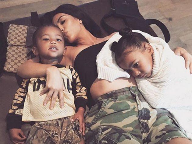 Kim Kardashian FINALLY reveals who Chicago West looks like