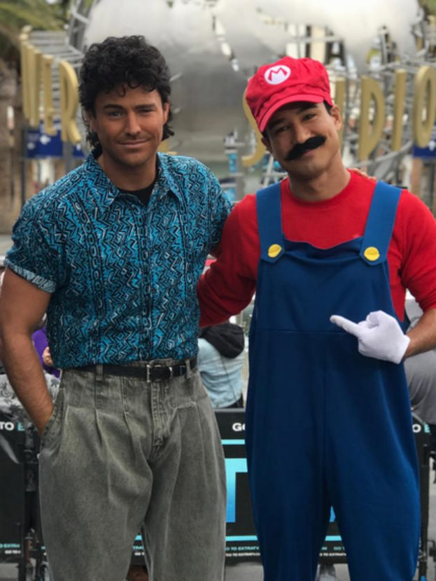 Mark Wright Wins Halloween Dressed As Mario Lopez In Saved
