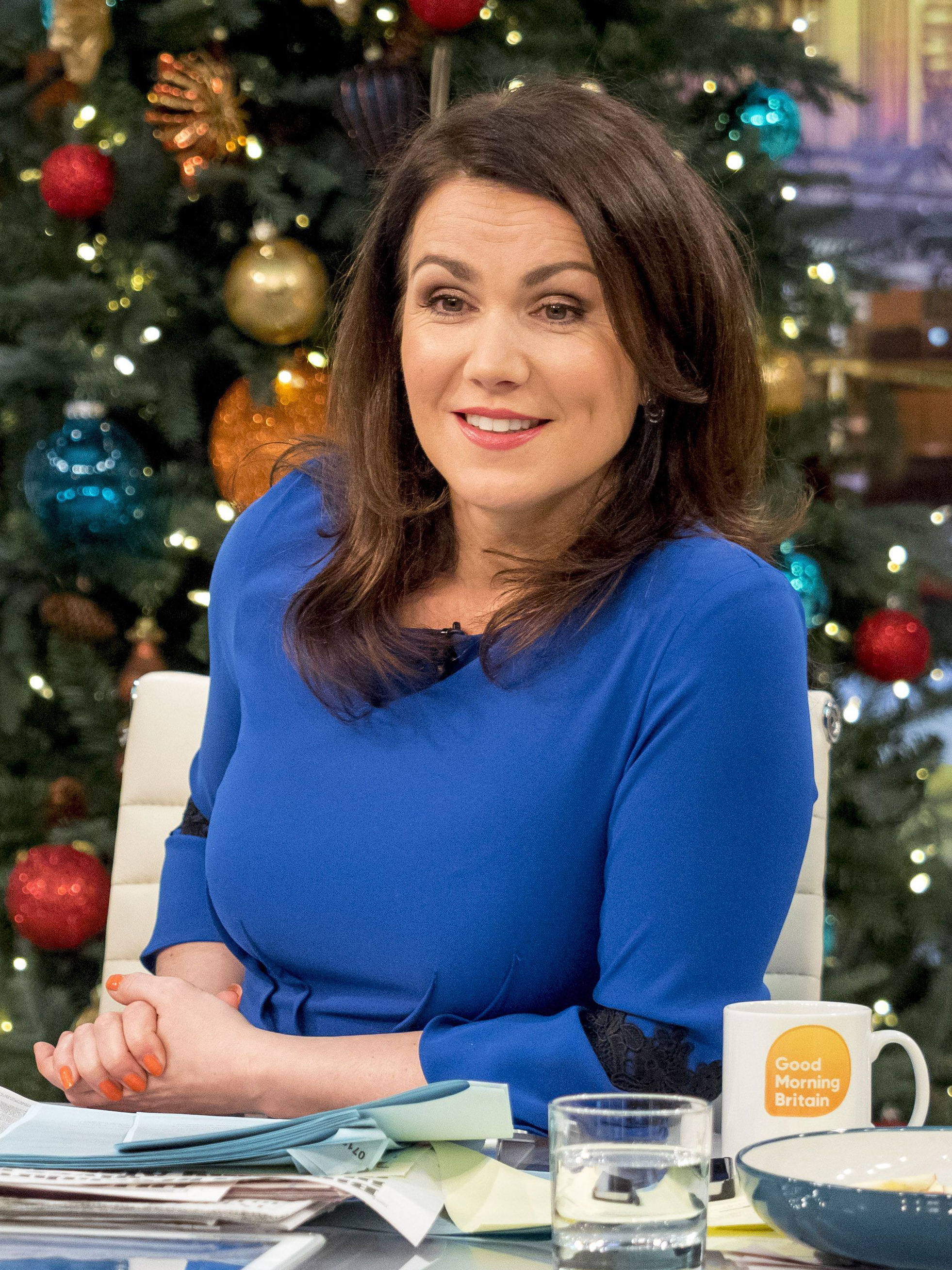 Good News Is That This Morning They >> Susanna Reid left red-faced after X-RATED gaffe on Good Morning Britain