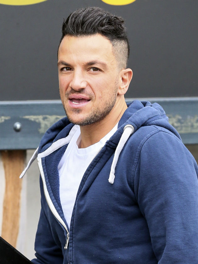 Peter Andre reveals bold new hair cut as he opens up about