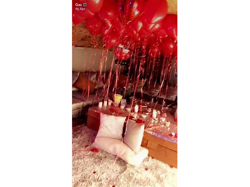 Gaz Beadle Reveals Elaborate Valentine S Day Surprise For Girlfriend