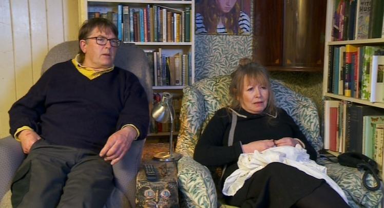 Who are Gogglebox's eccentric couple Giles and Mary?
