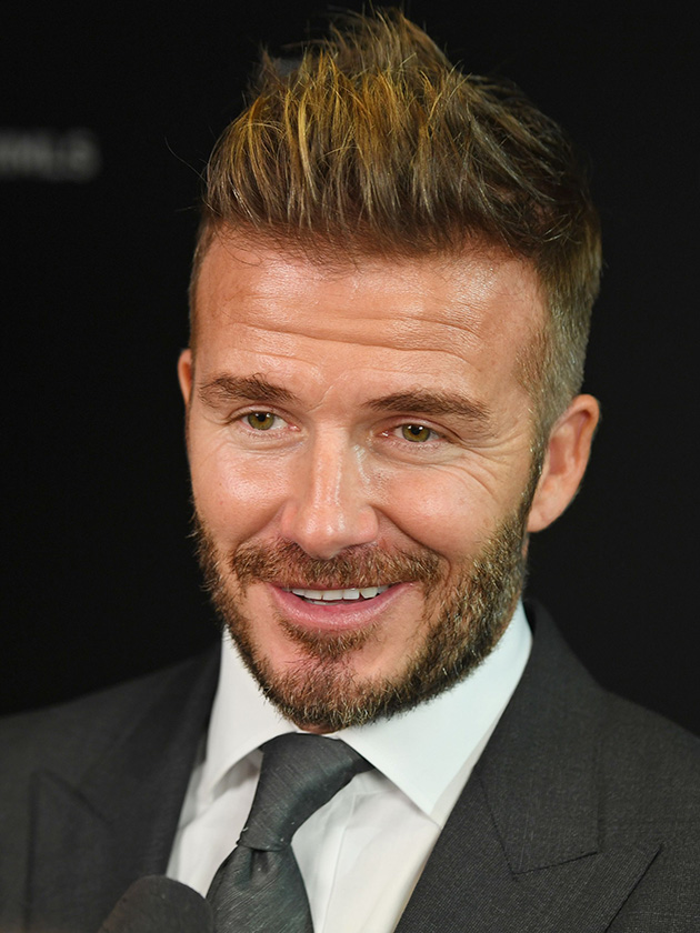 David Beckham Shows Off New Hair Cut As He Gets Selfie