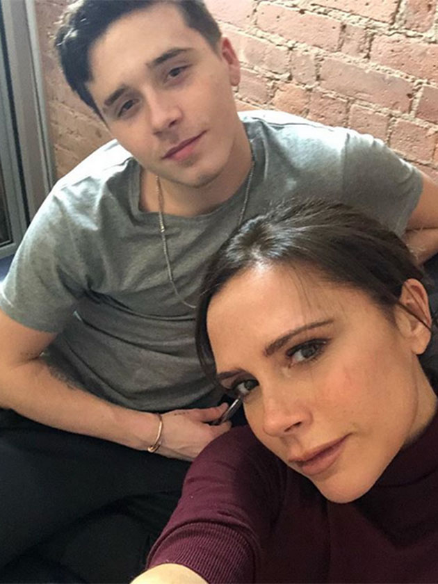 Aw Victoria And Brooklyn Beckham Enjoy Special Mum And Son Day