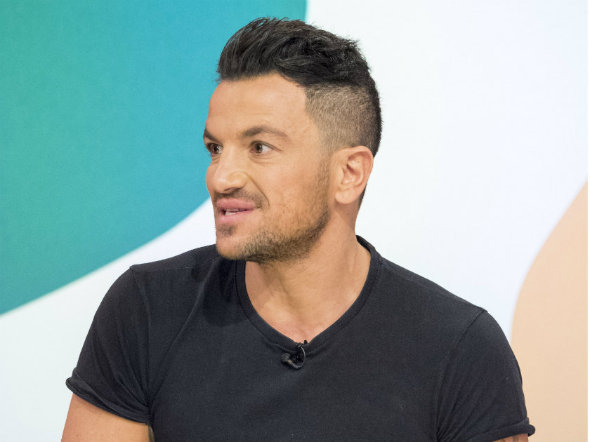 Peter Andre Shocks Fans With Likeness To His Kids In Childhood Photo